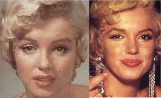 Marilyn Monroe Makeup How-To Step By Step Tutorial - Trend Hair Makeup Flawless Skin 2019 Quick Makeup, Eye Makeup Tips, Hair Makeup, 50s Makeup, Rockabilly Makeup, Crazy Makeup, Makeup Trends, Makeup Art, Makeup Ideas