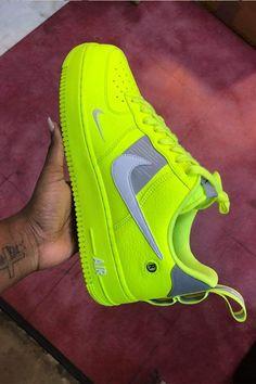 Neon green x nike neon nike shoes, nike shoes air force, neon sneakers, Neon Nike Shoes, Neon Sneakers, Nike Shoes Air Force, Nike Shoes Outfits, Sneakers Fashion, Neon Vans, Nike Fashion, Fashion Outfits, Casual Sneakers