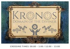 A banner image depicting the domain of Kronos from The Cruel Gods. Banner Images, Decor, Decoration, Decorating, Deco