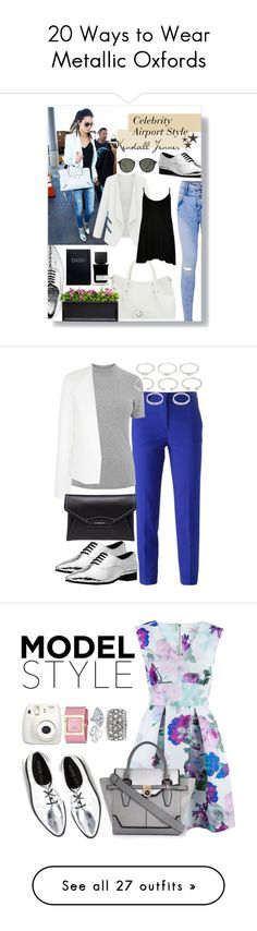 """""""20 Ways to Wear Metallic Oxfords"""" by polyvore-editorial ❤ liked on Polyvore featuring metallicoxfords, waystowear, Vince Camuto, Michael Kors, WearAll, jcp, Campania International, Ray-Ban, MiN New York and MSGM"""