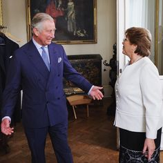 It's been another busy day for The Prince of Wales. The Prince's final engagement was held here at his London home with Chilean President Michelle Bachelet. by clarencehouse