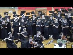 And the Glory of the Lord - Handel - YouTube // Anabaptist Orchestra Camp // Music / Singing / Choir / Orchestra /