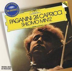 PAGANINI 24 Capricci op. 1 - Mintz - Deutsche Grammophon