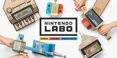 Con Nintendo Labo, cualquiera puede crear, jugar y descubrir fácilmente. Ensambla las planchas de cartón dándoles distintas formas conocidas como Toy-Con, y combínalas con Nintendo Switch para que cobren vida.
