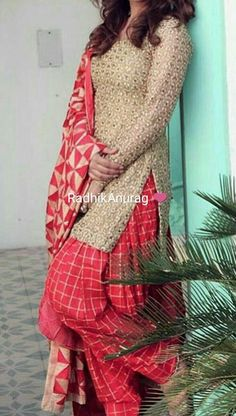 punjabi suits made from sareers Punjabi Dress, Pakistani Dresses, Indian Dresses, Indian Outfits, Punjabi Suits Designer Boutique, Boutique Suits, A Boutique, Salwar Designs, Dress Designs