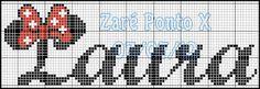Pontinhos da Tati: Para a amiga Carina Abreu (gráfico da amiga Zaré ponto x)