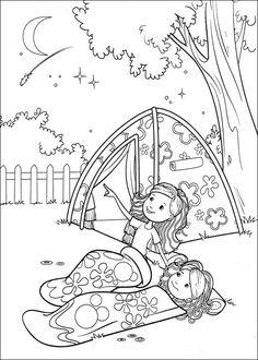 Coloring Page Groovy Girls Kids N Fun