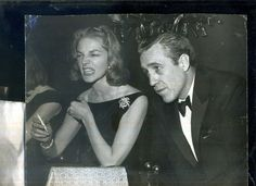 LAUREN BACALL AND HUSBAND JASON ROBARDS - ORIGINAL 8X10 CANDID DINING -1960'S