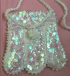Mile a Minute Sequins and Beaded Purse