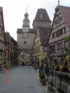 Rothenburg City, Germany. I´ve been here. Very beautiful.