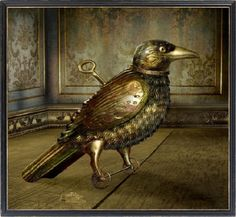 Victorian Steampunk - Abstract, Bird, Clockwork, Fantasy, Mechanical, Metal, ...  abstract.desktopn...