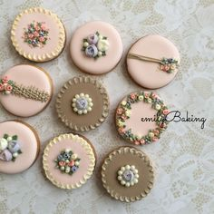 flower cookies   Cookie Connection