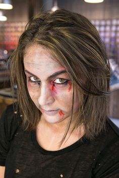 Pin for Later: 10 Halloween Beauty DIYs That Are So Good It's Scary Zombie