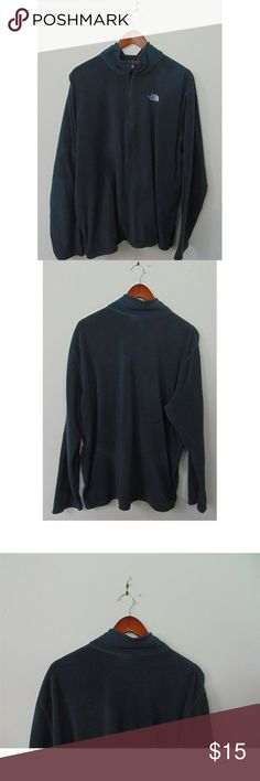 """The North Face Mens XL 1/4 Zip Fleece Sweater The North Face Mens XL 1/4 Zip Fleece Sweater Jacket Outerwear Outdoor Gray  Gently used condition  No stains, rips or holes  Measurements: (Taken with item laying flat)  Pit to Pit:25""""  Top to Bottom:28""""  Thank you for supporting small business. We work hard to search for sought after items our competitors are unable to find. Be sure to check out the wide range of new and pre-owned inventory available throughout the store. The North Face…"""