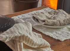 Linen towels made in the USA by Brahms Mount Linen Towels, Kitchen Towels, Pure Products, Usa, Tea Towels, U.s. States