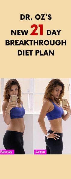 Dr. Oz's New 21 Day Breakthrough Diet Plan