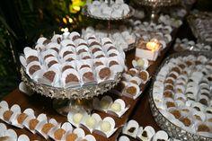 Os doces finos e bem casados do meu casamento