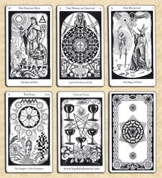 Hermetic Tarot Deck Exactly where does the information come from when someone reads your cards? Lana knows at www.beyondhereandnow.com