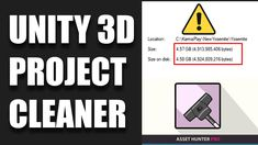 In this Unity 3D tutorial we show you how to remove unused assets using Asset Hunter Pro. Asset Hunter Pro allows you to clean your unity project by finding unused assets and deleting them. This is prefect for large and small Unity 3D projects that need project cleaning and optimization. This will help you save on disk Space. It's also helpful for online teams when sending large projects to teams for collaborations. Unity 3d, 3d Tutorial, Indie Fashion, 3d Projects, Indie Games, Game Design, Collaboration, Digital Art, How To Remove