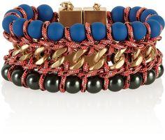 Love this: Ladder Goldtone Chain Bracelet @Lyst Proenza