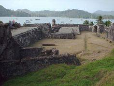 Part of the Fort of Portobelo, Panama