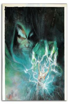 "artfullydc: "" The Spectre by Bill Sienkiewicz. Best Comic Books, Comic Books Art, Comic Art, Arte Dc Comics, Fun Comics, Jessica Rabbit, Power Girl, Blade Runner, Batgirl"