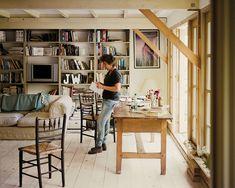 Jeanette Winterson's writing studio