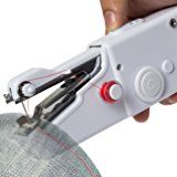 Mini Handheld Sewing Machine Random Best Gift for Family Portable Needlework Cordless Mini Hand-Held Clothes Fabrics Sewing Machine
