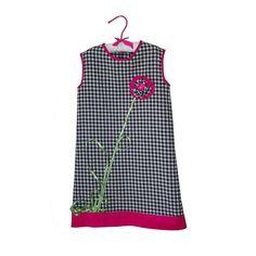 Rochie carouri cu bordura ciclam si  floricica Girls Dresses, Summer Dresses, Girl Outfits, Tulle, Satin, Velvet, Silk, Elegant, Cotton