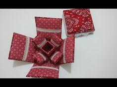 Caixa de Costura feita de Caixa de leite ou suco - YouTube