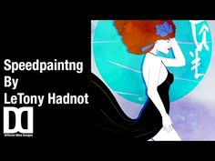 Speed Drawing by LeTony W. Hadnot Jr.: Mahognay SOUL - YouTube