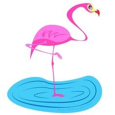 Tiki Art, Tweety, Flamingo, Illustration, Artist, Instagram Posts, Design, Flamingo Bird, Illustrations