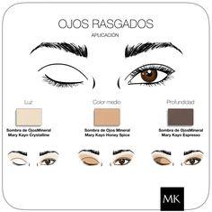 Makeup Ojos rasgados #MaryKay   www.marykay.es/mariaroda