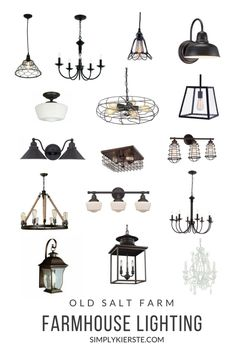 Farmhouse Lighting o