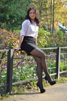 My Love for Nylon Covered Legs