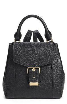 BURBERRY  Belmont  Convertible Leather Backpack.  burberry  bags  leather   backpacks 54003e2a72783
