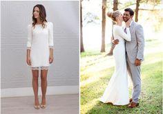 Vestido de Noivado longo ou curto?
