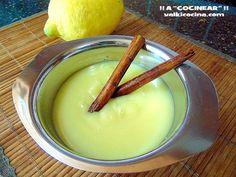 crema pastelera sin huevo