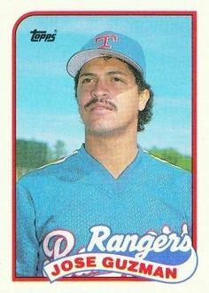 1989 Topps Baseball Card # 462 Jose Guzman Texas Rangers by Topps. $0.01. 1989 Topps Baseball Card # 462 Jose Guzman Texas Rangers