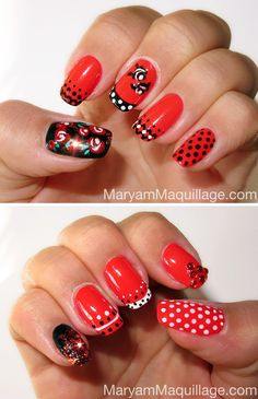 Inspired by a local beauty pageant in Puerto Rico. See my inspiration here: http://www.maryammaquillage.com/2012/10/spanish-rose-nail-art.html