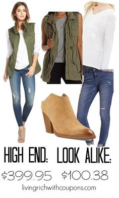 High Fashion Look for Less {save over $299}