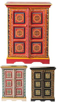 hand painted Moroccan folding screen | For the Home | Pinterest ... | furniture indian style
