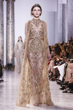 Elie Saab is king of the jewelled dress  the variations and options of all  that 928c42c7e