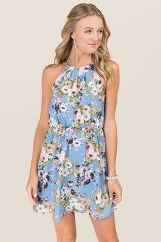 Winslow Floral A-line Dress