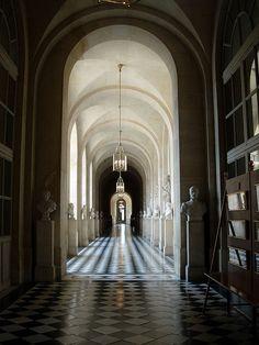Versailles Hallway by scot2342, via Flickr