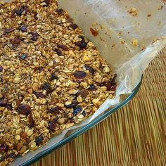 Healthy Granola Bar Recipe | Recipes with Peanut Butter & Grains