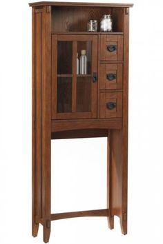 #Home Decorato's - Artisan Space Saver - doing a craftsman style bathroom