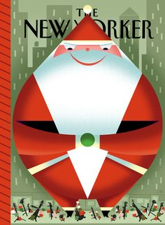 'Face Off' - Bob Staake Cover for The New Yorker Magazine