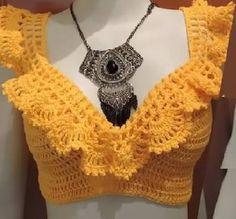 blusa de croche ciganinha - Google Search