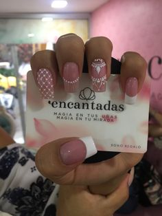 Perfect Nails, Gorgeous Nails, Pretty Nails, Mandala Nails, Toe Nail Designs, Hot Nails, Accent Nails, French Nails, Manicure And Pedicure